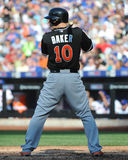 Jeff Baker. Miami Marlins first baseman Jeff Baker Royalty Free Stock Image