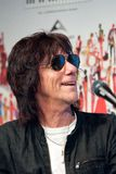 Jeff Beck. Guitar legend Jeff Beck at a press conference for the 2009 Montreal Jazz Festival Royalty Free Stock Photo