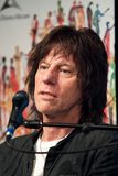 Jeff Beck. Guitar legend Jeff Beck at a press conference for the 2009 Montreal Jazz Festival Stock Image
