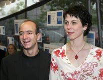Jeff Bezos and MacKenzie Bezos Royalty Free Stock Image