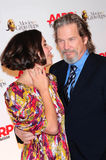 Jeff Bridges,Maggie Gyllenhaal Royalty Free Stock Photo