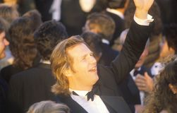 Jeff Bridges at the 62nd Annual Academy Awards, Los Angeles, California Stock Images