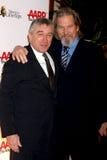 Jeff Bridges,Robert De Niro Royalty Free Stock Photo