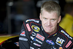 Jeff Burton drives through the Esses Royalty Free Stock Photos