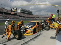Jeff Burton Pit Stop Stock Photography