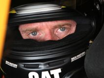 Jeff Burton at track Royalty Free Stock Image