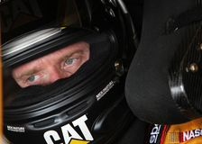 Jeff Burton at track Royalty Free Stock Photography