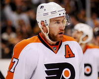 Jeff Carter Philadelphia Flyers Fotografia de Stock Royalty Free