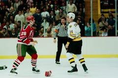 Jeff Courtnall, Boston Bruins. Royalty Free Stock Image