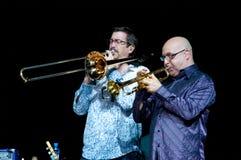 Jeff Cressman en Bill Ortiz Royalty-vrije Stock Foto's