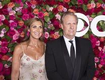 Jeff Daniels beim Tony Awards 2018 Lizenzfreies Stockbild