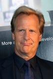 Jeff Daniels chega em HBO   Fotos de Stock Royalty Free