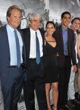 Jeff Daniels & Sam Waterston & Olivia Munn & sviluppatore Patel Immagini Stock Libere da Diritti