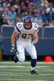 Jeff Dugan. Minnesota Viking tight end Jeff Dugan Royalty Free Stock Image