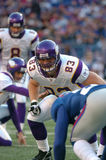 Jeff Dugan. Minnesota Viking tight end Jeff Dugan Royalty Free Stock Photography