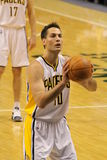 Jeff Foster Indiana Pacers Free Throw 12/20/2010 Stock Photos