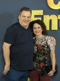 Jeff Garlin e Susie Essman Fotografia de Stock Royalty Free