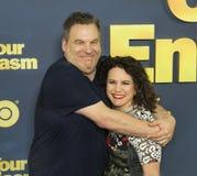 Jeff Garlin och Susie Essman Arkivfoto