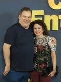 Jeff Garlin y Susie Essman Fotografía de archivo libre de regalías
