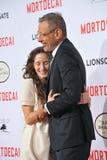 Jeff Goldblum & Emilie Livingston Royalty Free Stock Photos