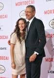 Jeff Goldblum & Emilie Livingston Stock Photography