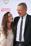 Jeff Goldblum & Emilie Livingston Stock Images