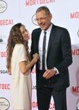 Jeff Goldblum & Emilie Livingston Royalty Free Stock Images