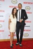 Jeff Goldblum & Emilie Livingston Royalty Free Stock Photography