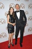 Jeff Goldblum & Emilie Livingston Stock Image