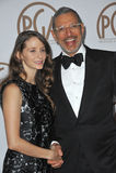 Jeff Goldblum & Emilie Livingston Royalty Free Stock Photo