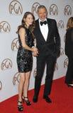 Jeff Goldblum & Emilie Livingston Stock Photos