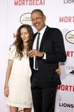 Jeff Goldblum and Emilie Livingston Royalty Free Stock Image