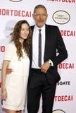 Jeff Goldblum and Emilie Livingston Stock Images