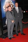 Jeff Goldblum, Robin Williams fotografia stock