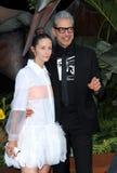 Jeff Goldblum y Emilie Livingston fotografía de archivo libre de regalías