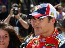Jeff Gordon bei Lowes 2 Stockfotografie