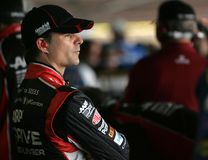Jeff Gordon in garage area Stock Image