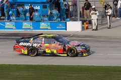 Jeff Gordon Racebil royaltyfri bild