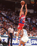 Jeff Hornacek. Philadelphia 76ers star Jeff Hornacek. Image taken from color slide Royalty Free Stock Images