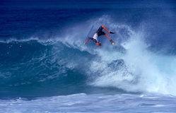 Jeff Hubbard Bodyboarding Champion Stock Image