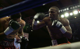 Jeff Left Hook Lacy. Professional Boxer Jeff Left Hook Lacy Royalty Free Stock Images