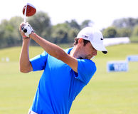 Jeff Lucquin at The French golf Open 2013 Stock Image
