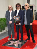 Jeff Lynne & Tom Petty & Joe Walsh royalty free stock images
