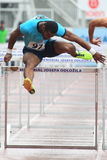 Jeff Porter - 110 m hurdles Royalty Free Stock Photo