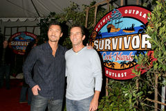 Jeff Probst, Kwon Immagine Stock