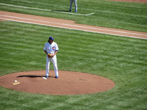 Jeff Samardzija on the Mound Royalty Free Stock Photo