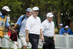 Jeff Sluman and Ian Woosnam Royalty Free Stock Images