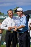 Jeff Sluman y jugador de Gary - NCGs2010 Fotografía de archivo