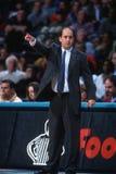 Jeff Van Gundy Coach van New York Knicks Stock Foto's