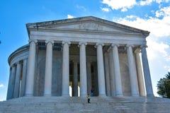 jefferson μνημείο Washington DC, ΗΠΑ Στοκ Φωτογραφία